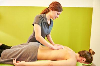 Physiotherapie München Nymphenburg - Leistungen - Massage