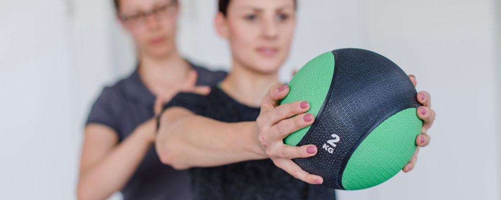 Physiotherapie München Nymphenburg - Leistungen slider